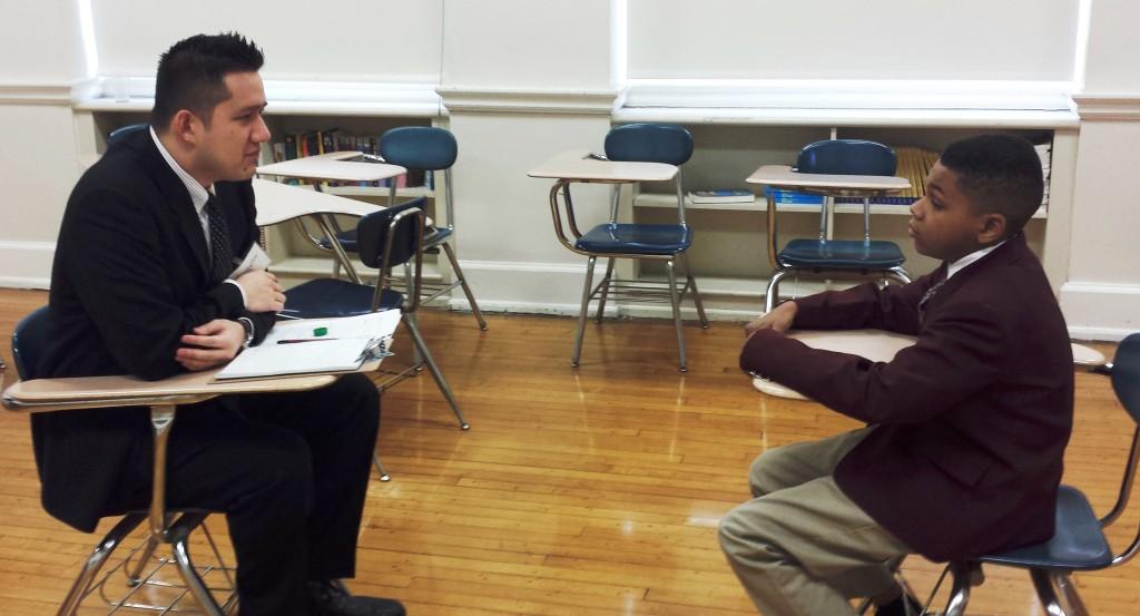 St James School » Students Prep for High School Interviews