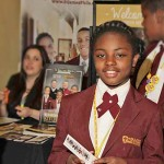 Nadira is proud to share about her school