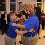 Student dancers show off ballroom dance moves