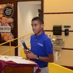 8th grader Ezekiel talks about his experiences
