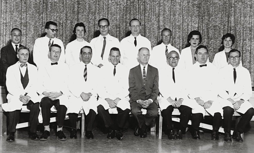 Dr. Evans with fellow Fullbright Scholars in 1950