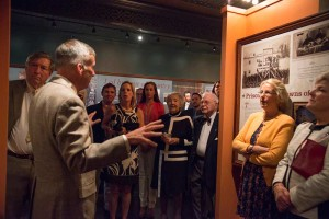 A VIP reception was hosted by Jim Mundy and featured his tour of the museum at The Union League of Philadelphia