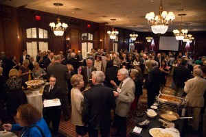 Over 200 guests gathered at The Union League of Philadelphia in honor of Dr. Audrey Evans