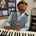 Davon as Stevie Wonder