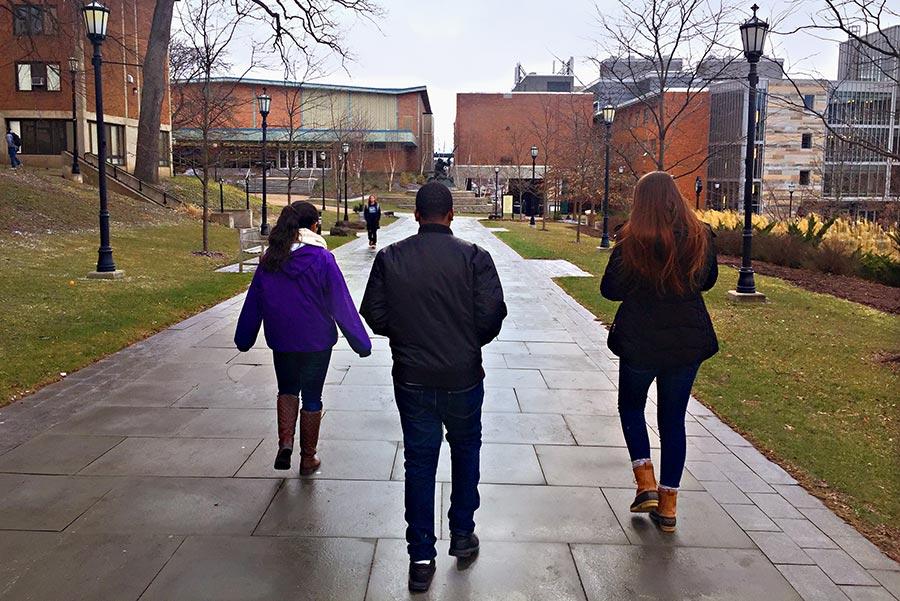 Keenan explores the engineering program at University of Scranton