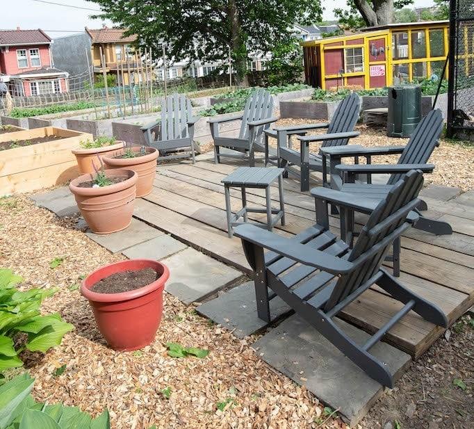 photo of Adirondack chairs