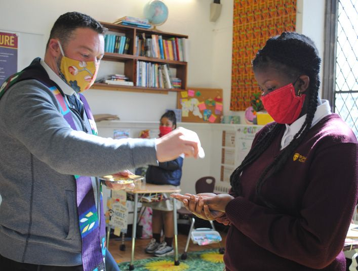 Church Comes to Classrooms During Lent